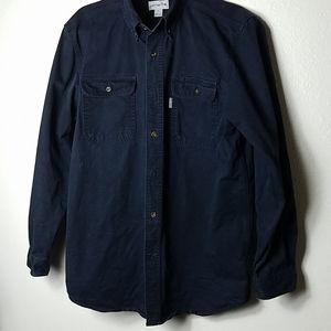 Carhartt Original Fit Men's Button Down Shirt Sz M